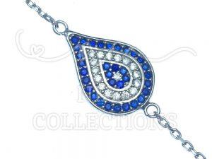 Evil Eye Sterling Siilver Bracelet