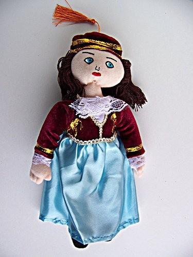 Amalia – Greek Authentic Doll
