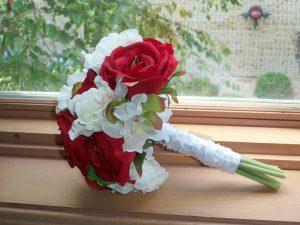 Silk Roses Bouquet