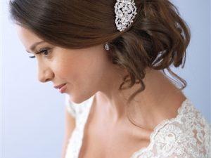Rhinestone Vintage Bridal Comb
