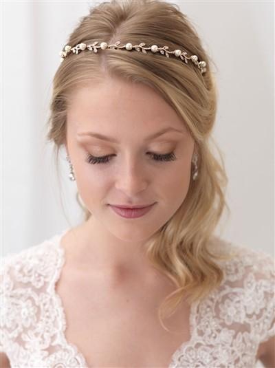 Beaded Swarovski Bridal Headband