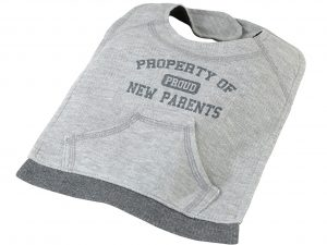 """Property of New Parents"" Bib"