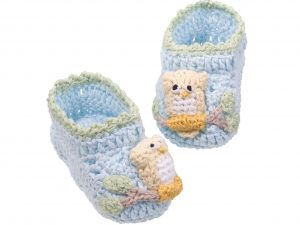 Crotched Cotton Bootie for Baby