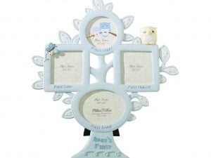Baby's First Year Photo Frame – Lt. Blue