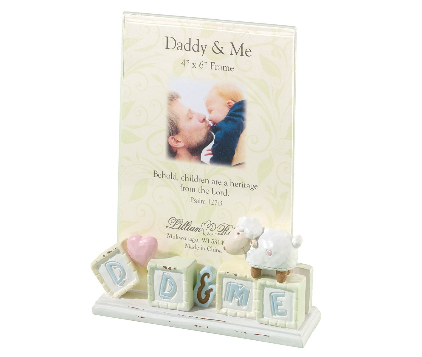 Lillian Rose Daddy & Me Baby Picture Frame Little Lamb - Nias ...