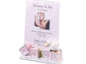 Lillian Rose Mommy & Me Baby Picture Frame Little Lamb