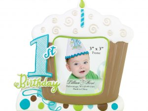 Lillian Rose First Birthday Picture Frame Blue