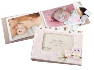 Lillian Rose Pink Owl Baby Photo Album