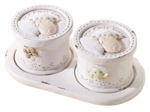 Lillian Rose Little Lamb Baby Tooth & Curl Boxes