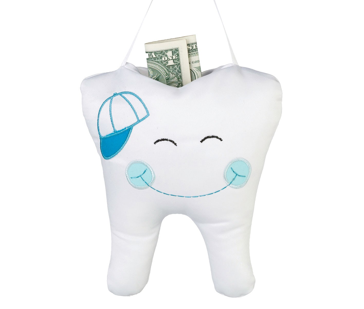 Lillian Rose Blue Tooth Fairy Pillow