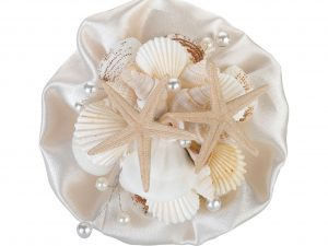 Lillian Rose Coastal Seashell Wedding Bouquet