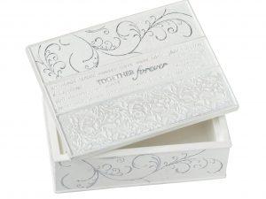 """Lillian Rose """"Together Forever"""" Keepsake Box"""