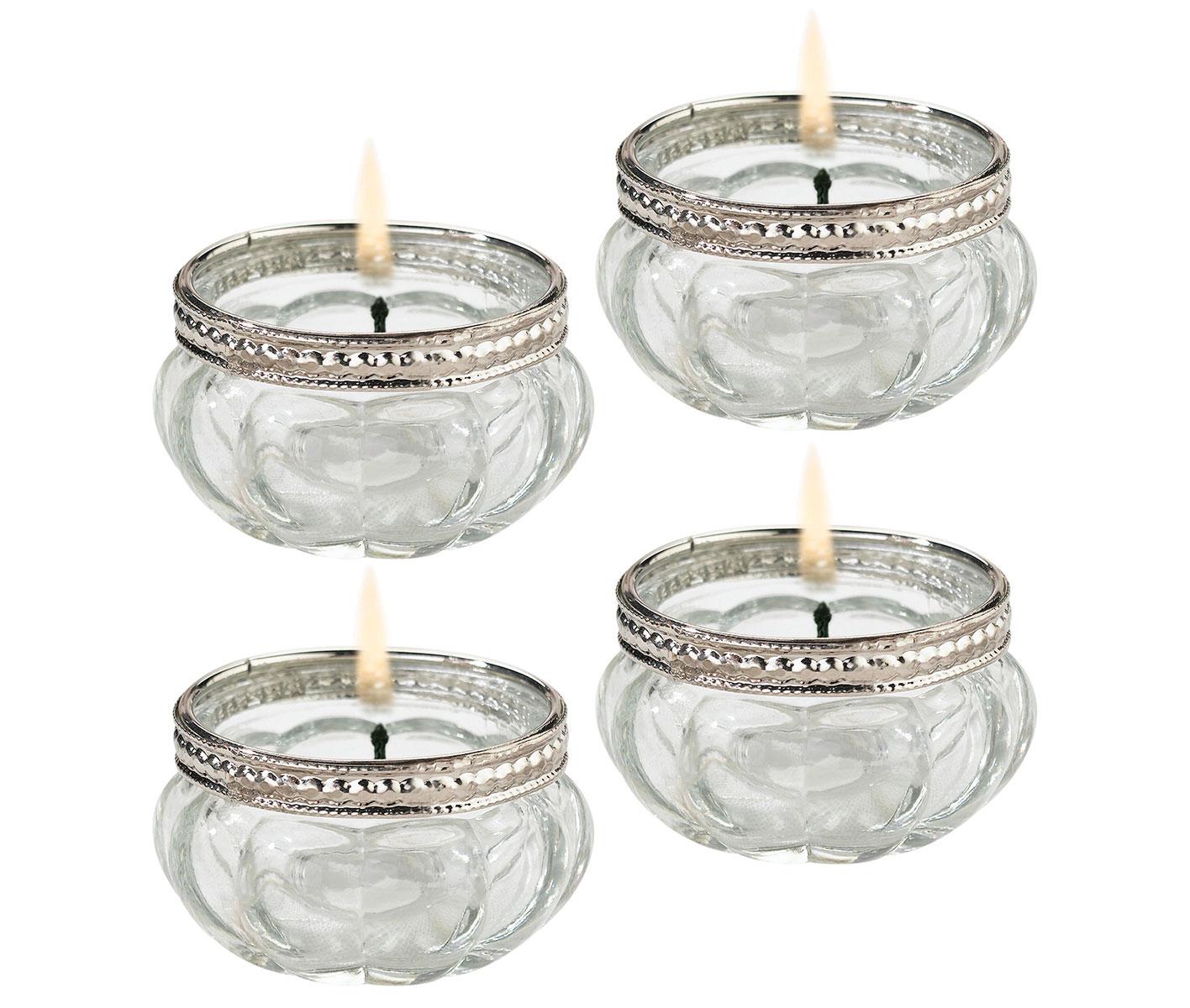 Lillian Rose Set of 4 Tealight Cups