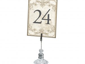 Lillian Rose Vintage Gold Table Numbers 1-24