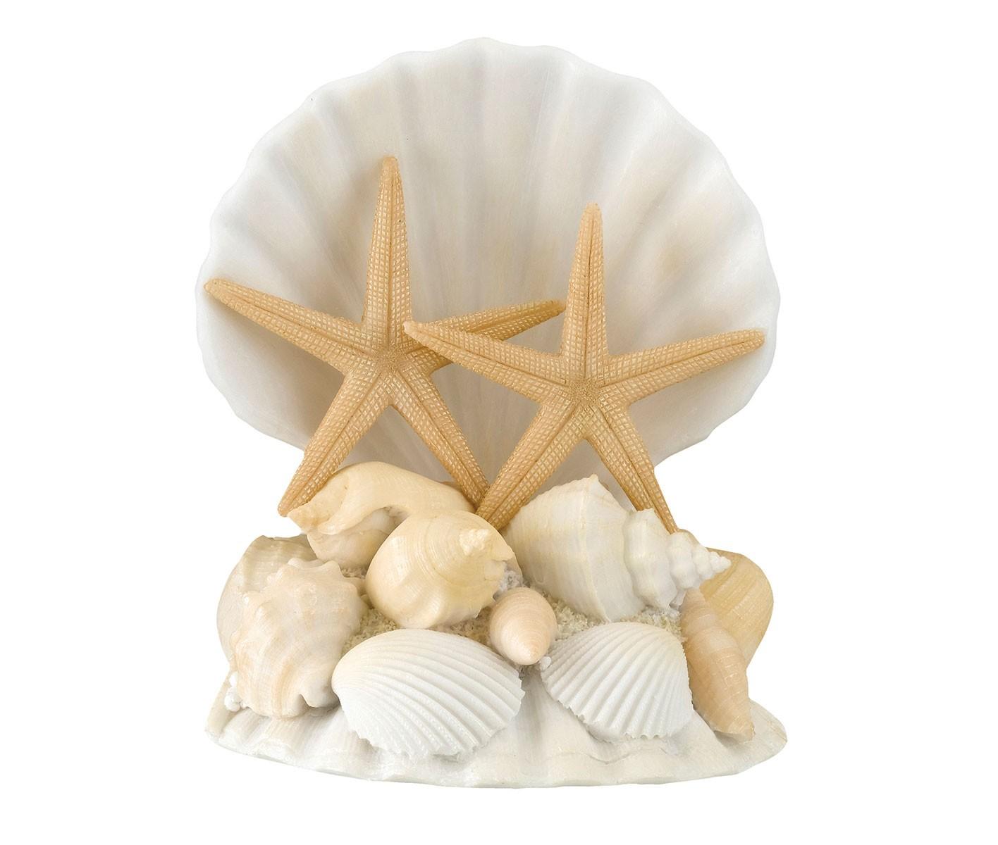 Lillian Rose Seashell Cake Topper