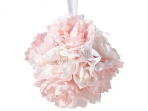 6″ Blush Pink Flower Ball