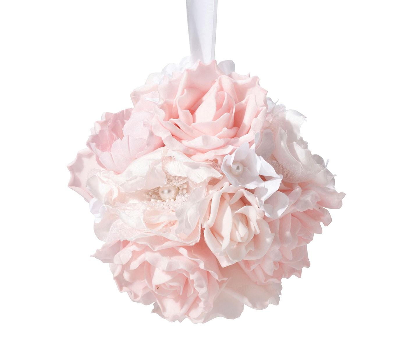 6 blush pink flower ball nias collections 6 blush pink flower ball mightylinksfo