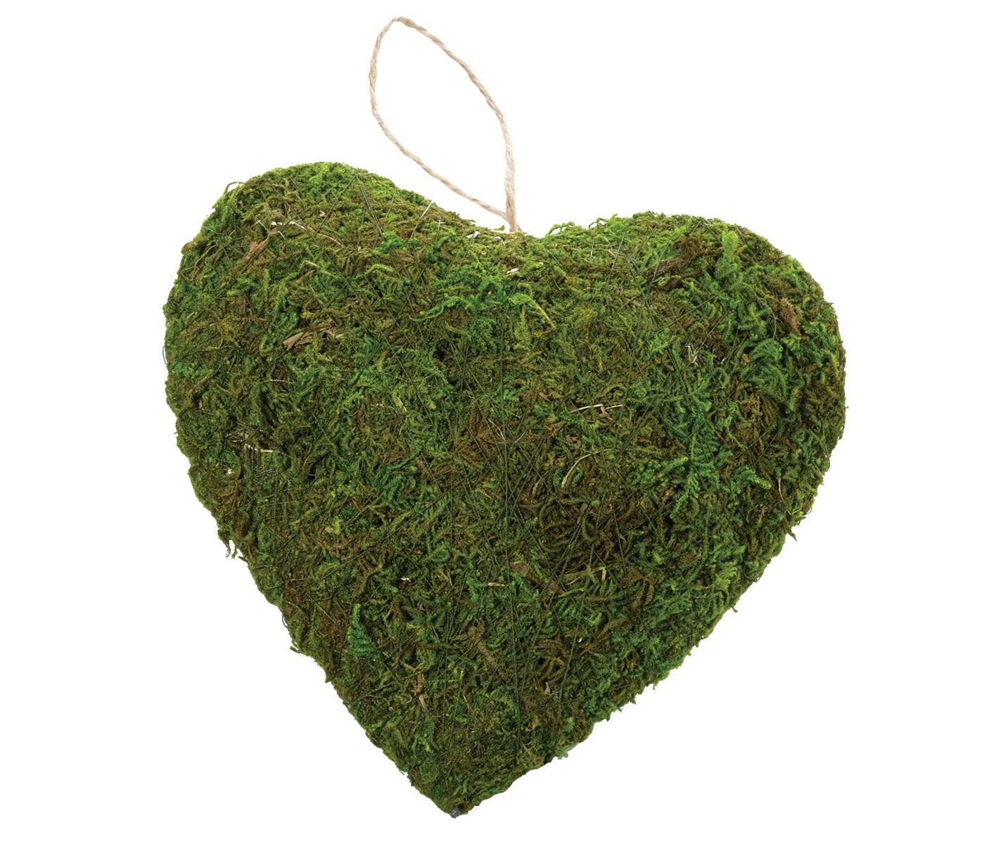 Moss Decor Hanging Heart
