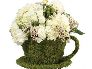 Moss Decor Teacup