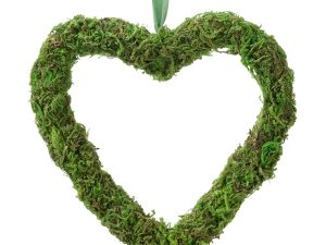 Hanging Moss Open Heart