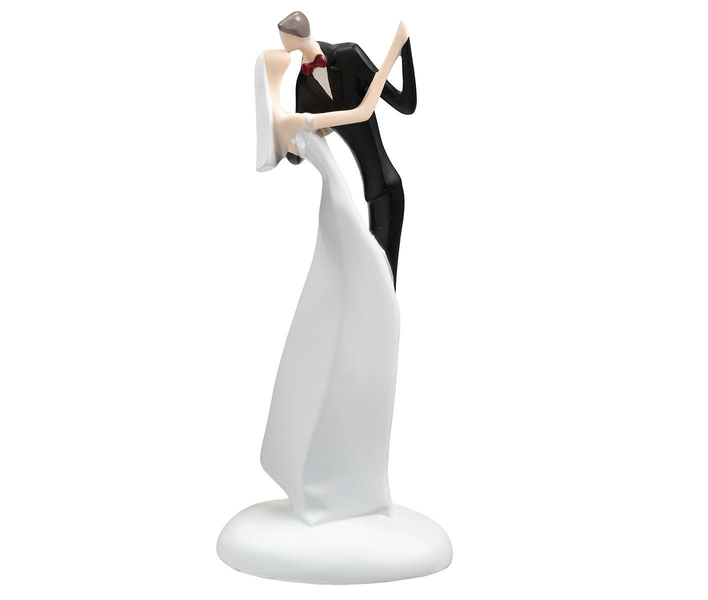 Lillian Rose Bride & Groom Kissing Figurine Cake Topper