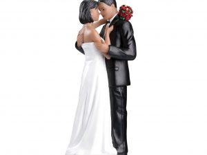 Tender Moment Figurine Cake Topper – African American