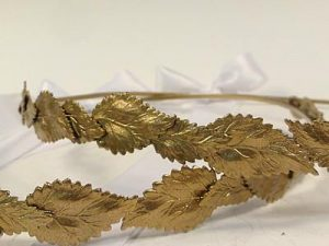 Orthodox Wedding Crowns (Half St. Sergius, Gold)