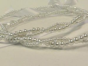 Orthodox Wedding Crowns (Stefana) – Anne (White)