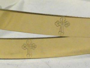 Orthodox Wedding Crowns (Stefana) – Byzantine (Brass)