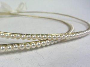 Orthodox Wedding Crowns (Stefana) – Maria (Gold Base)