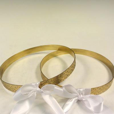 Orthodox Wedding Crowns – Helen Stainless Steel