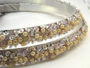 Orthodox Wedding Crowns (Lily – Champagne)