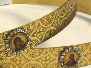 Orthodox Wedding Crowns (Stefana) – Helen (Brass)