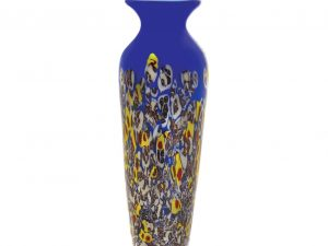 SUMMER MEADOW ART GLASS VASE