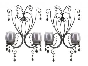 BLACK JEWELS WALL SCONCES