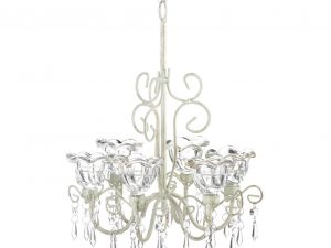 CRYSTAL BLOSSOM CHANDELIER