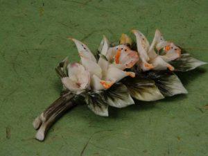 Porcelain Flower Party Favor