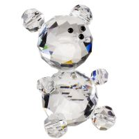 Italian Crystal Teddy Bear Party Favor