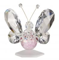24% Crystal Butterfly with Swarovski Crystals