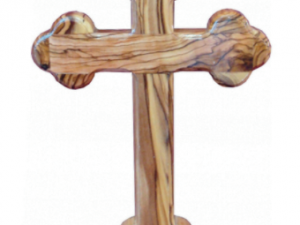 Olive Wood Wall Cross from Bethlehem