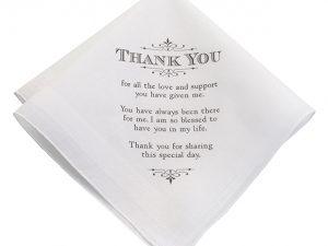 """""""Thank You"""" Women's Keepsake Hankie"""