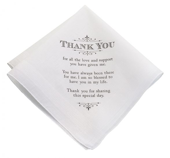 """Thank You"" Women's Keepsake Hankie"