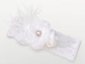 Vintage Lace White Garter