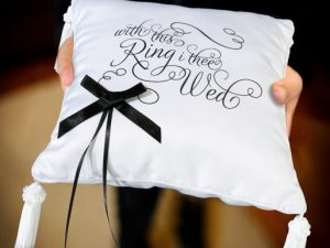 I Thee Wed Ring Bearer Pillow