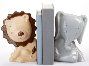 Safari Ceramic Bookends