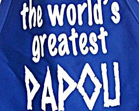 Worlds Great Papou Apron