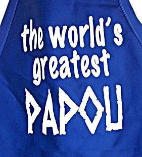 Worlds Great Papou Apron
