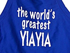 Worlds Great YiaYia Apron