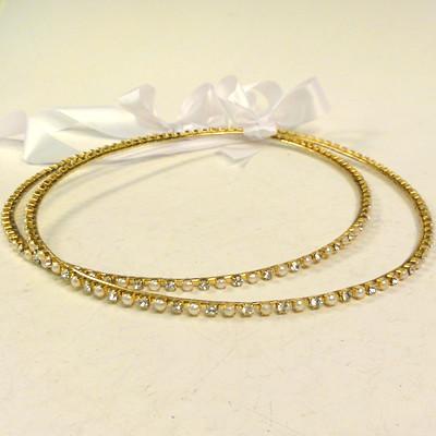 Orthodox Wedding Crowns (Stefana) – Natasha (Gold)