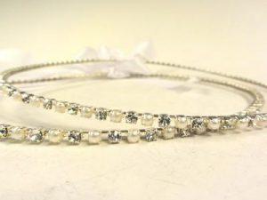 Orthodox Wedding Crowns (Stefana) – Natasha (Silver)